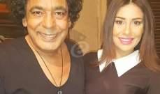 خاص بالصور- ما الذي يجمع محمد منير وغنوة محمود؟!
