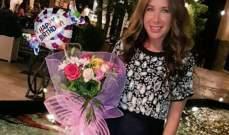 سابين تحتفل بعيد ميلادها وتعد جمهورها بمفاجأة قريباً.. بالصور