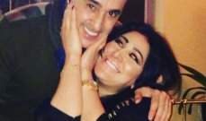 بالصورة- صابر الرباعي في لقطة حميمة مع زوجته