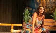 رولا حمادة: مع كل عمل مسرحي أعيش قصة حب كبيرة