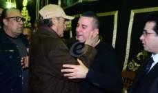 خاص بالصور- النجوم يقدمون التعازي لأسرة الراحل سعيد عبد الغني