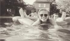 غوينيث بالترو تكشف عن لحظات ممتعة مع طفليها في المسبح