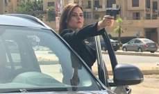 """رشا مهدي تصوّر مشاهدها الأخيرة في """"نوايا بريئة"""".. بالصور"""