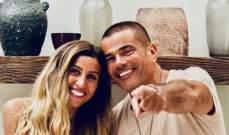 عمرو دياب ودينا الشربيني..إلى جانب كل رجل عظيم إمرأة يحبها