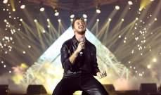 """بالفيديو- سعد لمجرد يشوّق الجمهور لأغنيته """"آسف حبيبي"""" مع فرقة الفناير المغربية"""