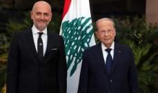 ريكاردو كرم أثبت مهنية وإحترافاً في لقائه مع الرئيس ميشال عون