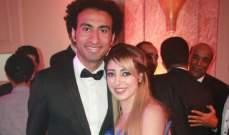 زوجة علي ربيع تعلن انفصالهما: