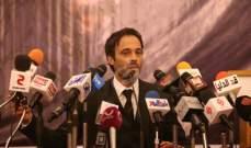 يوسف الشريف: عادل إمام خارج المنافسة.. ولا اقدم اعمالي حتى يمدحني النقاد