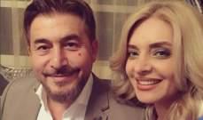 """زينة يازجي توضح إهداء زوجها عابد فهد جائزة الـ""""موريكس دور"""" للجيش السوري"""