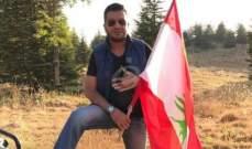 """خاص بالصور -نديم مهنا في كواليس تصوير أغنيته الوطنية """"ما منساوم"""""""