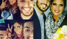 موري حاتم يعايد ألين لحود بعيد ميلادها.. بالصورة