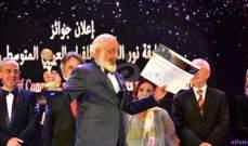 خاص بالصور- هذا ما قاله أيمن زيدان عن فوزه بجائزة أفضل ممثل في مهرجان الإسكندرية
