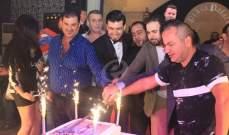 خاص بالصور..ستار سعد يحتفل بعيد ميلاده