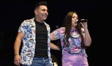 خاص بالصور - ليا كوروس وسيف حمدان يشعلان مسرح عيد الموسيقى في الجميزة
