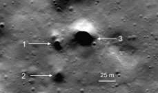 إكتشاف أنفاق عميقة تحت سطح القمر