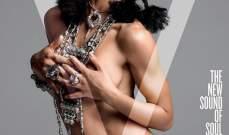 FKA Twigs تظهر عارية على غلاف مجلة V