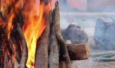 أثناء مراسم إحراق جثته.. هندي يعود إلى الحياة - بالصورة