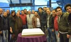 """هكذا احتفل صادق صباح وأبطال """"سك على أخواتك"""" بإنطلاق التصوير"""