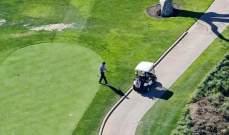 بعد أيام قليلة على تسببه بمقتل إمرأة..بروس جينر يلعب الغولف