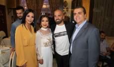 خاص بالصور- ماغي بو غصن وطوني عيسى وكاتيا كعدي وغيرهم في إفطار ناجي أسطا