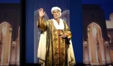 عبد الرحمن أبوزهرة في عرض عالمي لابن بطوطة بـ ميلانو