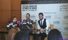 حسين الديك من موازين: لست بديل محمد عساف وملحم زين