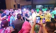 هاني العمري يحتفل بـ عيد الجيش في البقاع-بالصور