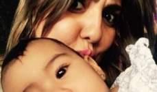 بالصورة.. مي كساب مع إبنة أورتيغا