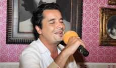 """هادي خليل :""""أخذ أغنية من ملحم بركات هو بمثابة حلم لي"""""""