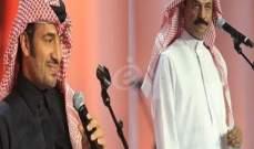 عبادي الجوهر وعيسى الكبيسي مسك إفتتاح مهرجان ربيع سوق واقف..بالصور