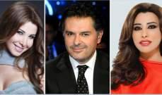 نجوى كرم ونانسي عجرم وراغب علامة يهنئون سعد الحريري بالسلامة