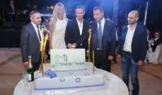 وليد توفيق يجمع طوني أبو جودة وكارلا حداد بحضور بريجيت ياغي