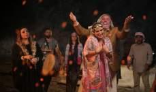 """ألين لحود مخرجة في """"شيّللو"""" وتغني اللون البدوي لأول مرة.. بالصور"""
