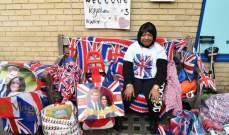 البريطانيون يفترشون الأرض أمام المستشفى بإنتظار ولادة كيت ميدلتون .. بالصور