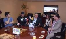 """أحمد السقا وأبطال """"الجزيرة 2"""" يحتفلون بنجاحه على طريقتهم..بالصور"""
