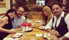 رامي عياش وداليدا يحتفلان بخطوبة النائب غسان مخيبر.. بالصورة