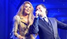 """مايا دياب ترقص على أغنية """"اللي باعنا"""" مع راغب علامة.. بالفيديو"""