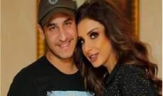إبن أنغام يهدد زوجها أحمد إبراهيم ويتراجع- بالصور