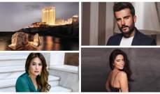رغم وجعها بيروت معشوقة النجوم..شيرين عبد الوهاب وهند صبري ومهند الحمدي يشهدون