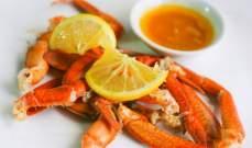 السلطعون الأكثر غنى في خصائصه الغذائية والأشهى طعماً بين الأطباق البحرية