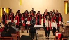 Voice by Nadine Nassif غناء وعزف وإبداع في أول رسيتال ميلادي