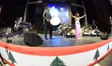 لورا خليل تتألق في حفل مهرجان الزلقا - عمارة شلهوب.. بالصور