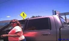 شرطي عاقب إمرأة بعدما تركت كلبها داخل السيارة