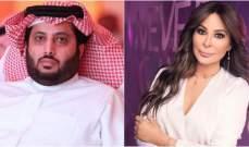 إليسا تعايد تركي آل الشيخ بعيد ميلاده وتعبر عشية 4 آب عن حزنها على بيروت وأهلها