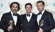 """فيلم """"العائد"""" يحصد خمس جوائز """"بافتا"""" لعام 2016"""