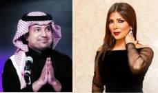 أصالة تعزي راشد الماجد بوفاة والدته-بالصورة