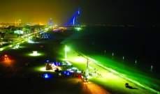 تدشين أول شاطئ للسباحة الليلية في العالم بـ دبي