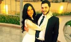 كريم السبكي وزوجته شهد يرزقان بمولودهما الأولى