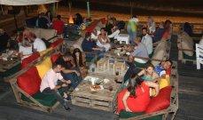 خاص وبالصور- آلان مطر يتحدّى الوضع الإقتصادي ويفتتح مشروع nômad ويجمع هؤلاء المشاهير