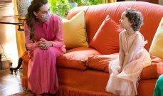 كيت ميدلتون تنفذ رغبة طفلة مريضة بالسرطان